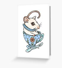The Silky Spoon Stealer Greeting Card
