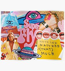 SUPER FLY COLLAGE Poster