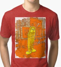 The Lion don't sleep tonight... Tri-blend T-Shirt
