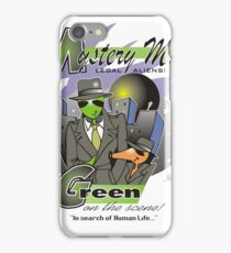 green on the scene iPhone Case/Skin