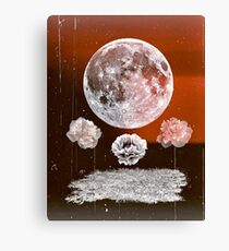 wish upon a blood moon Canvas Print