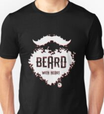 Beard With Heart Unisex T-Shirt