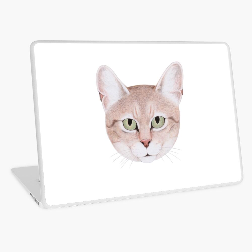 African Wildcat Laptop Skin