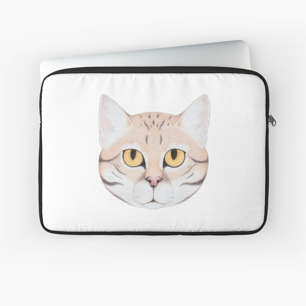 Black-footed Cat Laptop Sleeve