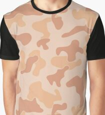 Camuflage Desert Army Pattern #2 Graphic T-Shirt