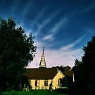 stapleford church at midnight by papillonman