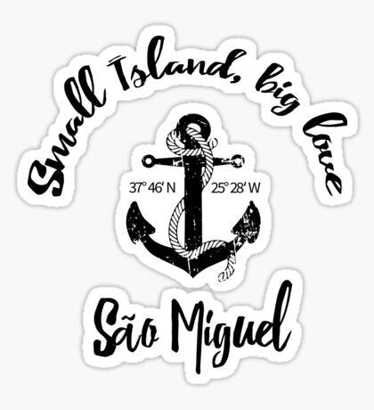 Sao Miguel - Azoren Sticker