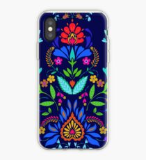 folk pattern - mexican vacation.  iPhone Case