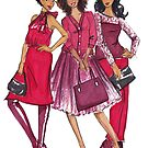 Ladies in Red by Veronica Miller Jamison
