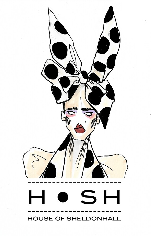 Fashion Bunny Polka Dot by HOSHART