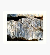 Dolomitic Limestone Art Print