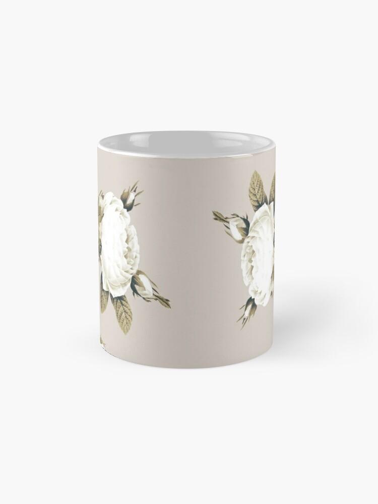 Alternate view of Minimal Whiterose Mug