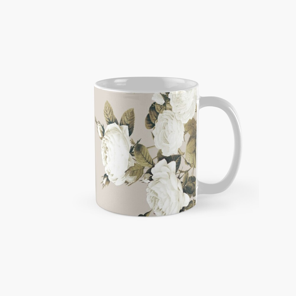 Minimal Whiterose Mug