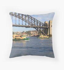 Ferries Throw Pillow