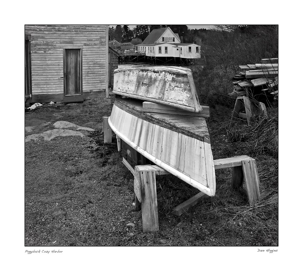 Piggyback Cozy Harbor by Dave  Higgins