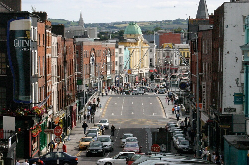 fair city of Cork on lee side by Edward  manley
