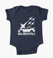 Body de manga corta para bebé SUBARU