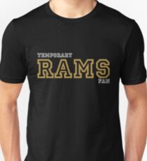 aacac6140 Temporary Rams Fan Hate New England Graphic Tee Unisex T-Shirt