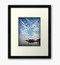 Awesome clouds Framed Print