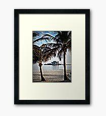 St. Pete Pier  Framed Print