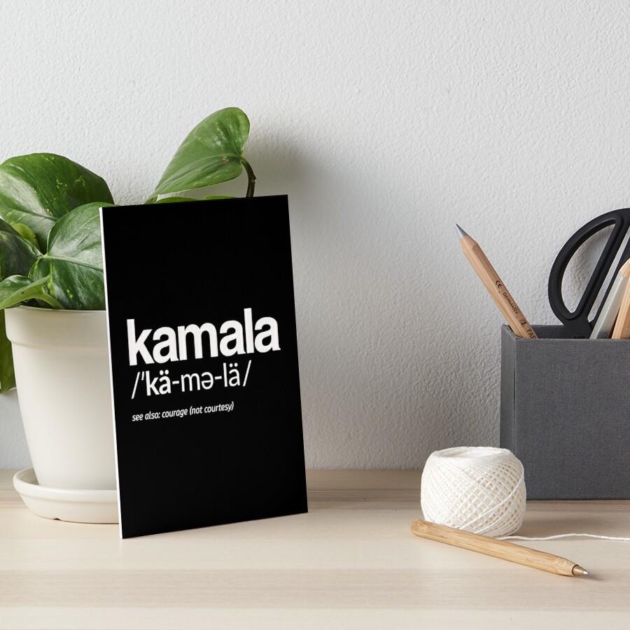 Kamala Harris 2020 Aussprache und Definition Galeriedruck