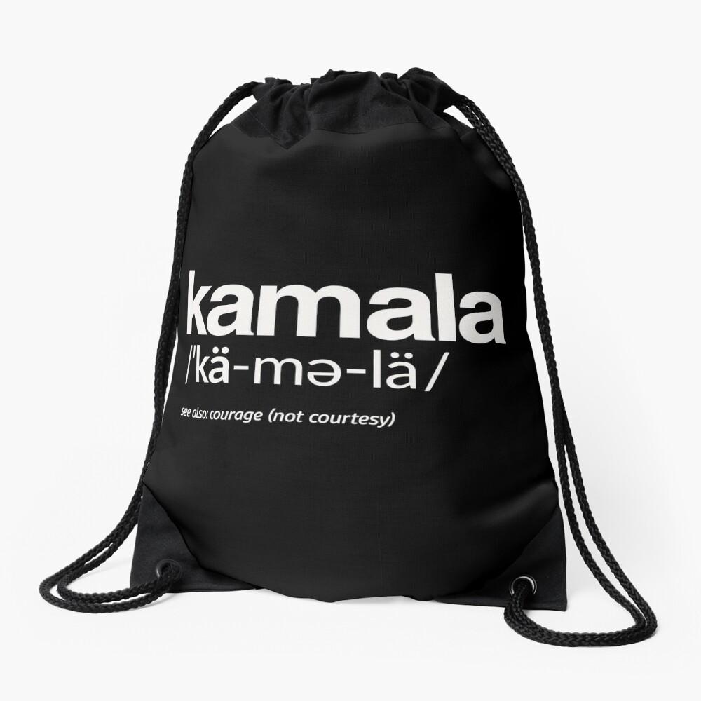 Kamala Harris 2020 Aussprache und Definition Turnbeutel
