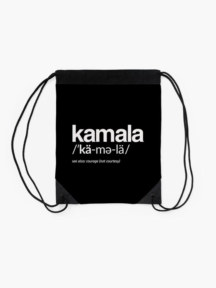 Alternative Ansicht von Kamala Harris 2020 Aussprache und Definition Turnbeutel