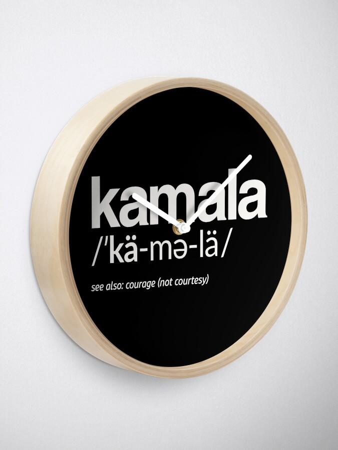 Alternative Ansicht von Kamala Harris 2020 Aussprache und Definition Uhr