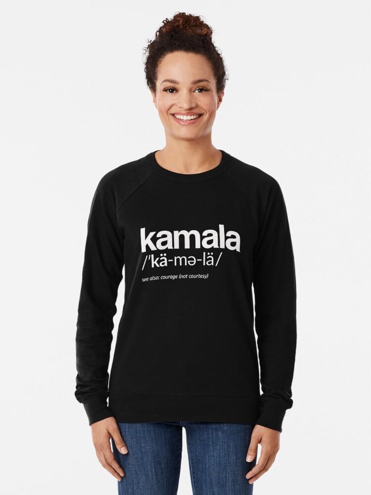 Alternative Ansicht von Kamala Harris 2020 Aussprache und Definition Leichter Pullover