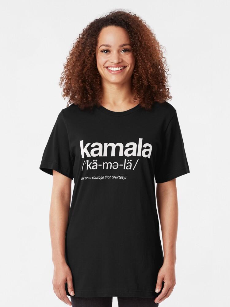 Alternative Ansicht von Kamala Harris 2020 Aussprache und Definition Slim Fit T-Shirt