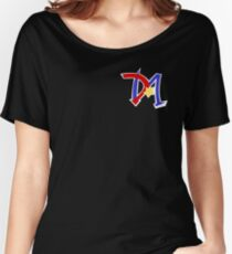 Yu-Gi-Oh GX - Duel Academy Logo Women's Relaxed Fit T-Shirt
