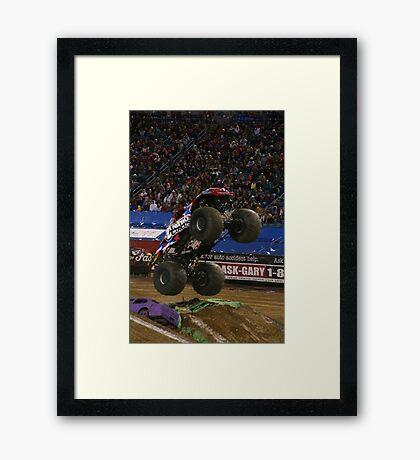 Monster Jam-Nitro Circus Framed Print