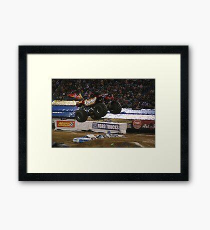 Monster Jam 2010-Grinder Framed Print