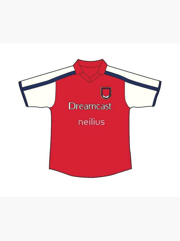 pretty nice b29e3 8c0e0 Arsenal 2001-02 Home Shirt | Poster