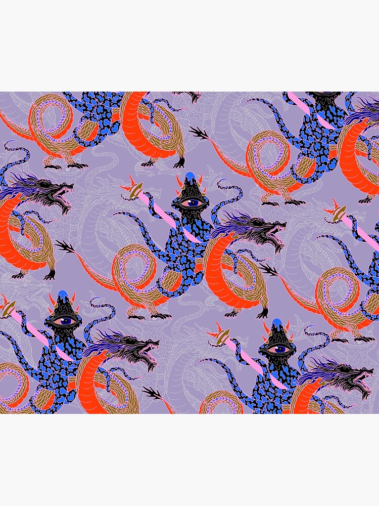 Japanese Water Dragon 虬竜 by penwork