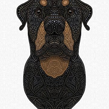 Rottweiler - Teddy de artlovepassion