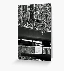 Homeless In The City  Greeting Card