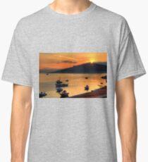 Sunrise over Nissaki Classic T-Shirt