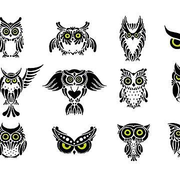 Owl art by Kudryashka