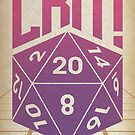 Crit Success - Pink by Justin Klett