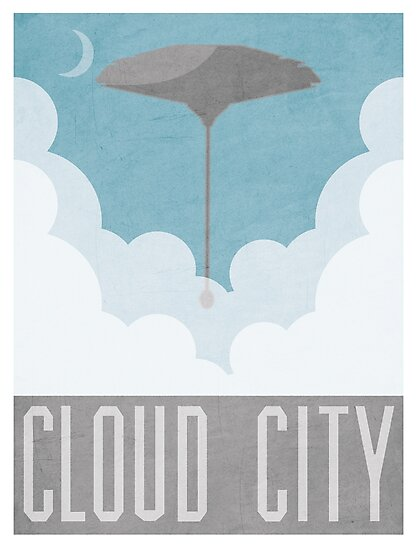 Cloud City Star Wars Poster by davechaps