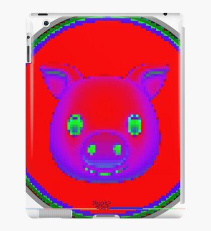 emotipiggyplug (emojipiggyplug) VII by RootCat iPad Case/Skin