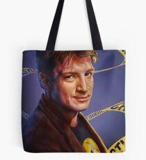 Nathan Fillion Tote Bag