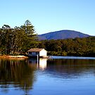 Boat House On The Clyde by marinar