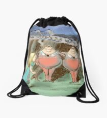 The Walrus And The Carpenter Drawstring Bag