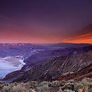 Looking Towards Furnace Creek, Death Valley by David Orias