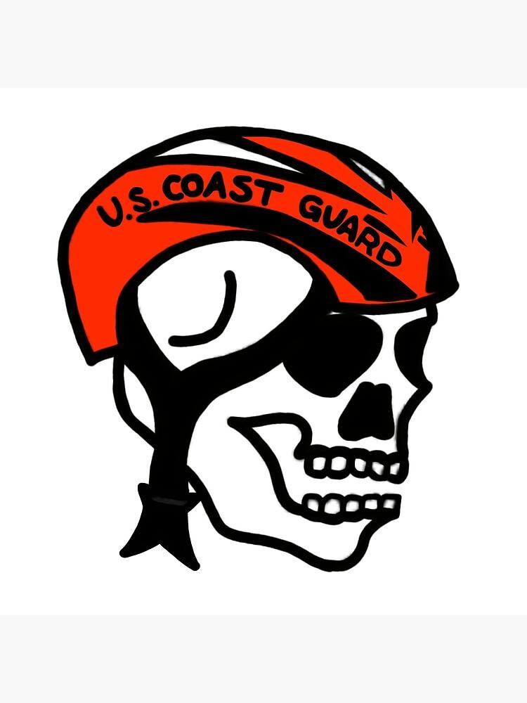 Coast Guard Skulls - Boat Crew Helmet by AlwaysReadyCltv