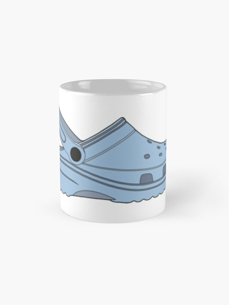 Alternate view of crocs, you ain't rockin if you ain't crocin' Mug