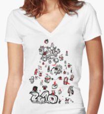 Twenty When?! Women's Fitted V-Neck T-Shirt