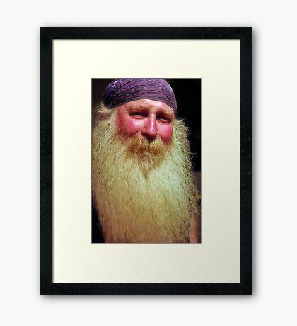 """Wizard"" Framed Print"